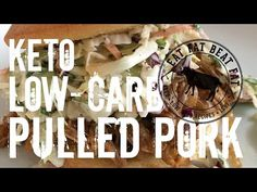 KETO SLOW-COOKER PULLED PORK Don't have all day to babysit an old-fashioned charcoal smoker?  No problem.  This slow-cooker recipe is low-maintenance, set it and forget it, and best of all is keto friendly with no sugary rubs or sauces.