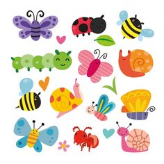 Shop Cute Insects and Bugs Sticker created by NatureTales. Kids Stickers, Cute Stickers, Mothers Day Crafts For Kids, Vinyl Sheets, Personalized Stickers, Clipart, Design Your Own, Bugs, Diy And Crafts