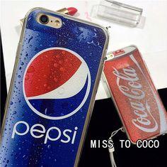 Typisch Coca Muster TPU Handyhülle für Iphone6/6s/6plus/7/7plus