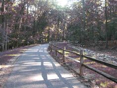 a picture of the Good Luck road pedestrian and bike entrance to Greenbelt Park in Maryland Greenbelt Park, Maryland Parks, Metro Subway, U.s. States, Ocean City, Good Ol, Pedestrian, Entrance, National Parks