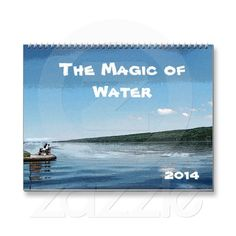 Magic of Water Calendar ~ Explore the magical world of water with this lovely 2014 seasonal fine art photography wall calendar of original digitally enhanced photographs. Each month displays a different facet of water: