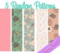 Random Patterns para PhotoShop by ~JennyBoo15 on deviantART  #patterns #photoshop #background