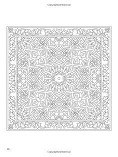 Arabic Floral Patterns