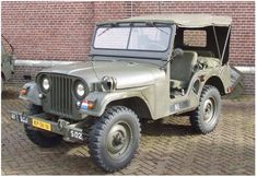 The M38A1 (NEKAF, NEderlandsche KAiser-Frazer fabrieken nv), Dutch Army