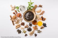 Here are five ingredients that are scientifically proven shownto support your immune system! Ayurvedic Recipes, Ayurvedic Herbs, Ayurveda, Detox Diet Recipes, Turmeric Root, Holistic Remedies, Five Ingredients, Red Berries, Immune System