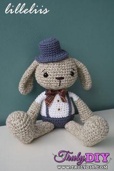 Mister Bunny by Lilleliis (Mari-Liis Lille)-Free Craft Patterns