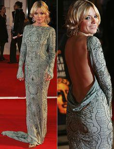 Sienna Miller in Ungaro at the 2007 BAFTAs