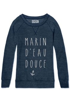 "Sweat ""Marin d'eau douce"""