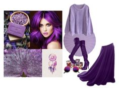 Purple Witch by gabri-ella on Polyvore featuring art