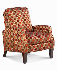Ava Recliner Chair Country Style High Leg Reviews Furniture Macy S