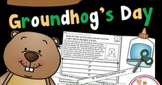 Free Groundhog Sequencing Cut and Paste