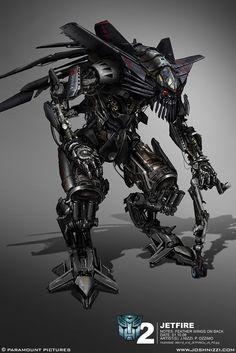"""Transformers: Revenge of the Fallen"" concept art by Josh Nizzi"