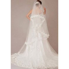 Wedding Veils :     Picture    Description  #Chapel #Wedding #Veil … same length as the dress … Wedding ideas for brides, grooms, parents & planners itunes.apple.com/… … plus how to organise an entire wedding, within ANY budget ♥ The Gold Wedding Planner iPhone #App ♥... - #Veils https://weddinglande.com/accessories/veils/wedding-veils-chapel-wedding-veil-same-length-as-the-dress-wedding-ideas-for-brides-2/