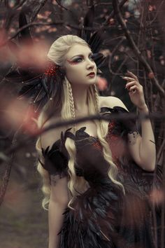 Model: Maria Amanda Schaub Photo: Photography Smashed with Poetry Dress and Headpiece: Fairytas For Gothic and Amazing Magazine,Get your copy. Dark Gothic, Gothic Art, Victorian Gothic, Gothic Girls, Gothic Lolita, Gothic Dress, Dark Fashion, Gothic Fashion, New Fashion