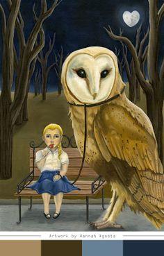 """Hannah Agosta - """"Pet Owl"""""""