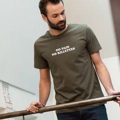 "Tee-shirt avec inscription ""Punk is dad"" Homme | Square Up"