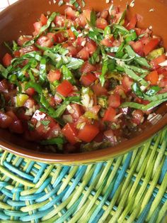 Spicy Salsa Topping for Bruschetta - Hispanic Kitchen Kitchen Recipes, Cooking Recipes, Healthy Recipes, Cooking Tips, Spicy Salsa, Bruschetta Recipe, Hispanic Kitchen, Appetizer Recipes, Appetizers