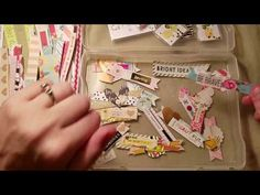 DIY Embellishments, Beginning crafty tips, and Use your scraps! - YouTube