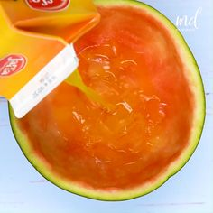 Refreshing Drinks, Cantaloupe, Watermelon, Fruit, Christmas, Ideas, Food, Hand Crafts, Fat