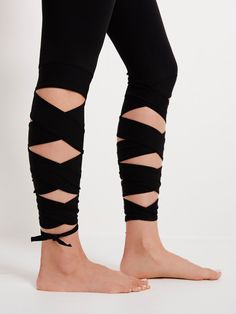 Motion Legging | Get a move on in these ultra-luxe performance leggings, crafted from our exclusive Be Free Blend. Featuring adjustable wrap hem detail and two-way stretch fabrication with superior breathability, this versatile style is designed to move freely with the body for optimal range of motion. Banded waistband and Power Mesh lining for an easy, effortless fit.