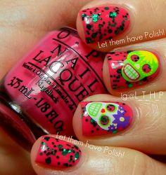 Let them have Polish!: O.P.I So So Skullicious Halloween Minis for 2012