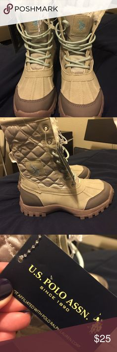NEW Kids Boots for sale! Cute new booties for a girl for sale. ALL OFFERS ARE WELCOME! U.S. Polo Assn. Shoes Rain & Snow Boots