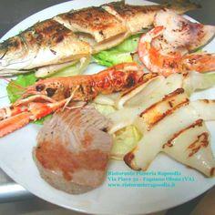 Grigliata di mare dello chef - Ristorante pizzeria Rapsodia di Fagnano Olona (VA)