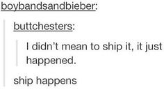 """can i have """"ship happens"""" on a t-shirt please and thank you"""