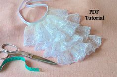 Tutorial How to Make a Victorian Jabot Victorian by rubinabubina, $6.90