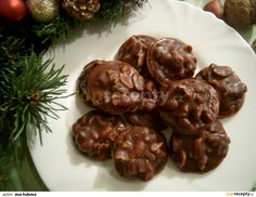 Christmas Candy, Christmas Baking, Christmas Cookies, Czech Recipes, Ethnic Recipes, Desert Recipes, Baking Recipes, Rum, Sweet Tooth