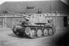 The Panzerjäger 38 (t) für 7,5 cm Pa.K. 40/3 Ausf. H was the first chassis not made for Panzer 38 (t) production
