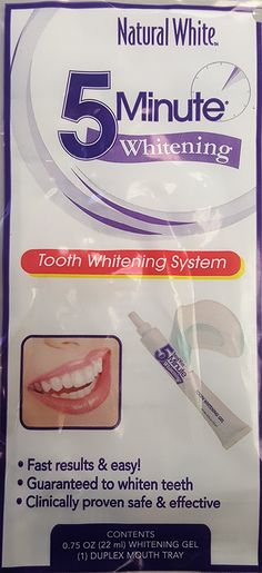 Natural White Lornamead 5 Minute Tooth Whitening System *** You can find out more details at the link of the image.