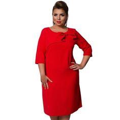 c0d67f2bf2f Elegant Red Bodycon Bowtie Party Plus Size Dress - L-6XL - Candy Couture  Boutique
