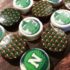 Logo Oreos for golf theme bar mitzvah by diptonline.com Golf Theme, Oreos, Bar Mitzvah, Logo, My Love, Holiday, Desserts, Products, Logos