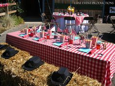 Luxe Social Celebrations :: Child's Birthday Party :: Country & Western Theme by Luxe Event Productions, via Flickr