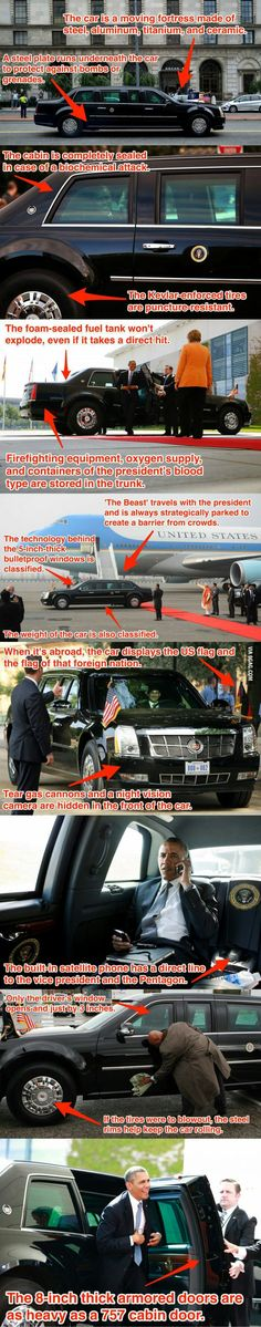 To the guy who posted about the the president car door