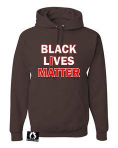 Adult Black Lives Matter Sweatshirt Hoodie