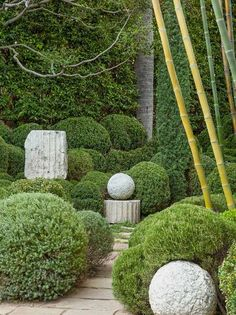 the style saloniste: Richard Shapiro's Inspiring Art Garden in Los Angeles: A Green Dream
