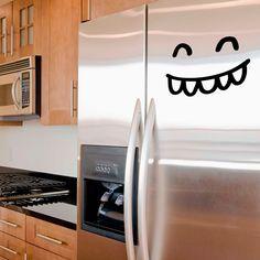 Neveras divertidas con vinilos Chispum ::: Funny fridges with Chispum decals