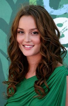 chocolate-y hair by Leighton Meester