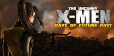 X-Men: Days of Future Past é um jogo para Android e iOS. Jogue como Wolverine,Tempestade, Kitty, Colossus, Polaris, Ciclope ou Feiticeira Escarlate, Confira