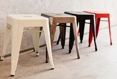 Mocka Small Industrial Stools www.mocka.co.nz