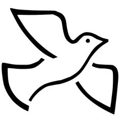Free Peace Clip Art of Free peace sign clip art clipart image for your personal projects, presentations or web designs. Dove Images, Dove Pictures, Bird Pictures, Peace Bird, Peace Dove, Advent Symbols, Dove With Olive Branch, Bird Coloring Pages, Free Clipart Images