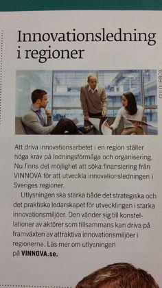 Vinnova har 2 700 000 000 kr för innovationer. #innovation, #förnyelse, #vinnova, #innovationsgruppen