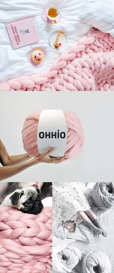 Montre comment tricoter http://bit.ly/2lOE2E5  Laine mérinos pour Armknitting. au point de 3 pouces. Tricot géant. Convient pour le tricot de bras. Laine mérinos.  Cette laine est super épaisse. Il est pour le tricot de bras. Vous n'avez pas besoin d'aiguilles à tricoter. un point est d'environ 3 pouces.  Nous allons faire extrême tricoté par vous-même!  FACILE, RAPIDE, AMUSANT, BRICOLAGE!  Combien laine ai-je besoin? Couverture 30 * 50 pouces — 2 kg (4,4 lb) Couverture de 4...