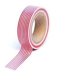 ScrapbookPal.com - Queen & Co.  http://www.scrapbookpal.com/queen-co-trendy-tape-stripe-red/