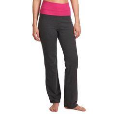 Deportes Fitness Material de Gimnasio,Yoga - Pantalón yoga algodón bio DOMYOS - Ropa de gimnasio y Nutrición