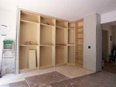 Ikea Built Ins Corner