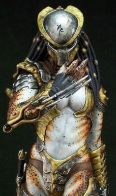 Female Predator cosplay wow
