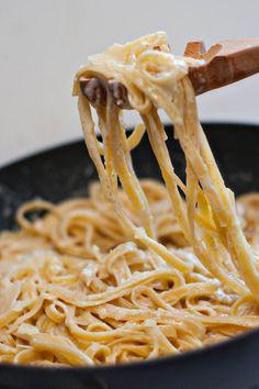 Brown Butter fettuccine Alfredo | heatherlikesfood.com